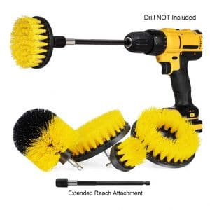 Agole 5 Pack Drill Brush Power Scrubber