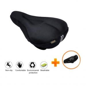 Ancocs Bike Seat Cover with Waterproof and Dustproof Cover