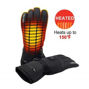 Global Vasion Electric Rechargeable Heated Gloves