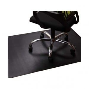 Lesonic Office Chair Mat for Tile and Hardwood Floor- Black