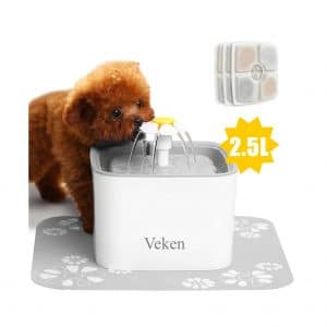 Veken Pet Fountain 2.5L Water Fountain
