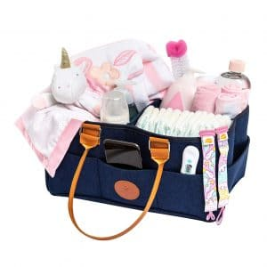 Live With Us Unique Baby Diaper Caddy Organizer