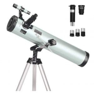ToyerBee Telescope with 76mm Aperture and 3 Eyepieces