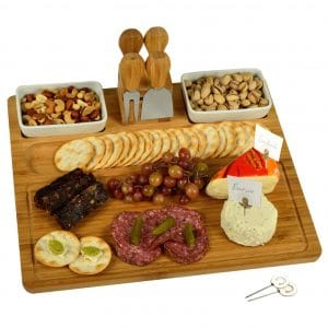 Picnic at Ascot Bamboo Cheese and Charcuterie Cutting Board