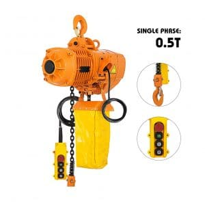 VEVO 500KG Industrial Electric Chain Hoist