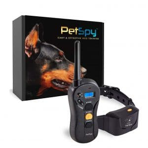PetSpy P620 pet Training Collar