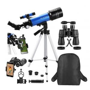 MaxUSee Travel Scope with a Backpack