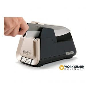 Work Sharp E5 Kitchen Knife Sharpener w/Ceramic Honing Rod