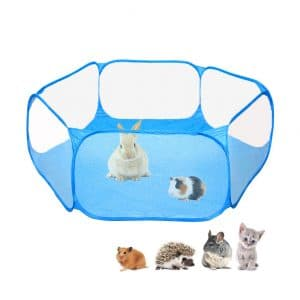 Amakunft Small Animals Breathable Pet Playpen