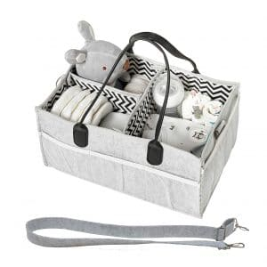 HOMEVAGE Baby Diaper Caddy
