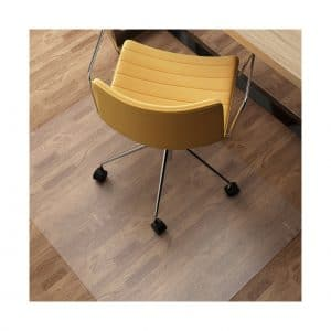 SLYPNOS Transparent 48 x 36 Inches Chair Mat for Hard Floors