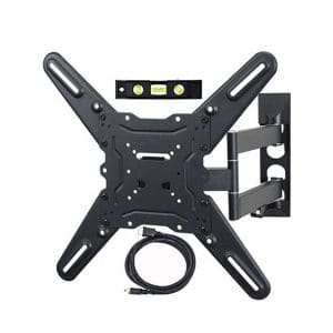 VideoSecu ML531BE 27-55-inches Flat Screen TV Wall Mount