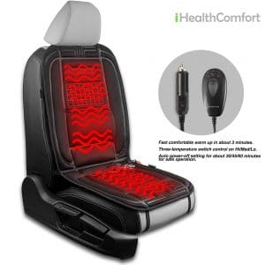 iHealthComfort Car Heated Seat Cushion Cover