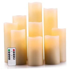 Enpornk Flameless Candles