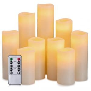 Hausware Flameless Candles