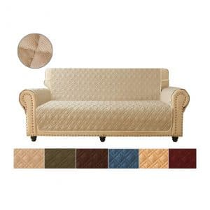 Ameritex Reversible Quilted Sofa Cover
