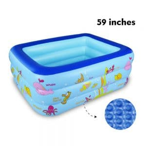 WateBom Inflatable Family Swimming Pool