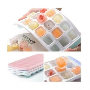 XYUN 3-Pack Ice Cube Trays