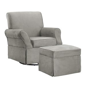 Baby Relax Glider Chair and Ottoman