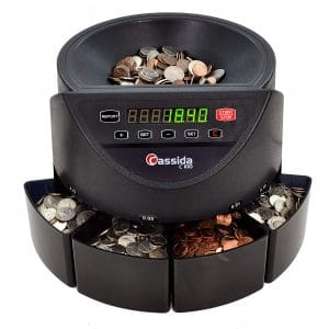 Cassida C100 Coin Counter