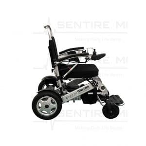 Sentire Med Forza Foldable FCX Deluxe Compact and Folding Electric Wheelchair