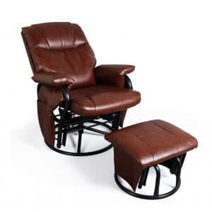 JIASTING Recliner Chair with Ottoman