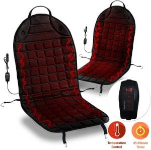 ZONETECH Car Heated Seat Cover