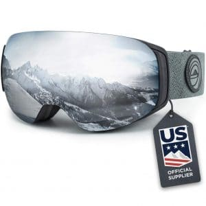 Wildhorn Roca Ski and Snowboard Goggles with Interchangeable Lens