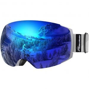 OutdoorMaster PRO – Frameless Men and Women Ski Goggles