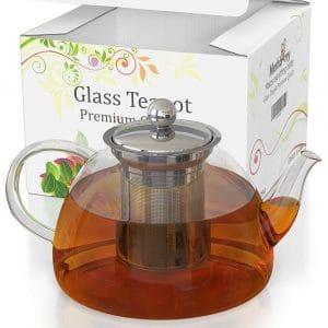 Meshberry Glass Teapot and Kettle