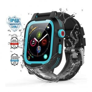 YOGRE Waterproof 42mm iWatch with Built-in Screen Protector