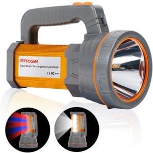 GEPROSMA Super Bright Rechargeable Handheld Flashlight