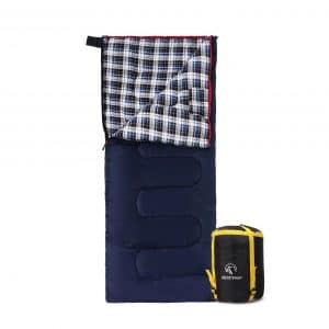 REDCAMP Cotton Flannel Sleeping Bag