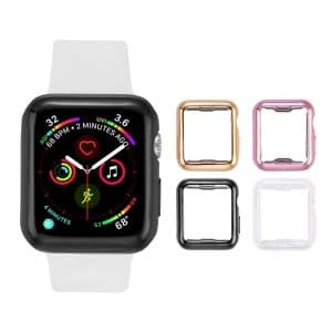 Transesca 4 Pack Apple Watch Protector