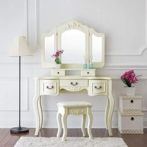 Fineboard Vanity Beauty Station Makeup Table