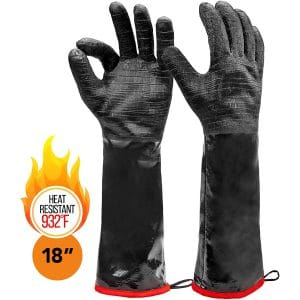 Heatsistance Heat-Resistance BBQ Gloves 18-inches Long