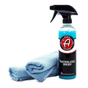 Adam's Waterless Special Lubricants with Advanced Emulsifiers Car Wash, No Messes (Combo)