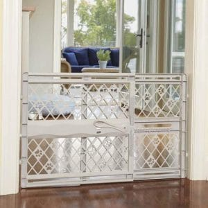 North State Pet Mypet 42-Inches Portable Pet Gate