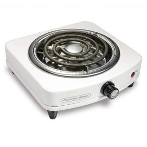 Proctor Silex 34103 Compact and Portable Electric Single Burner