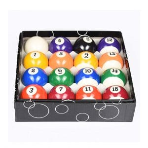 T&R Sports Deluxe Pool Ball Set