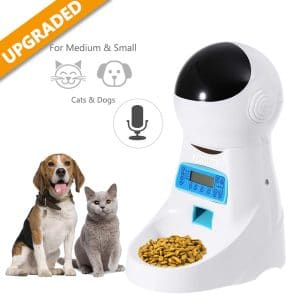 Tomasar Automatic Microchip Pet Feeder