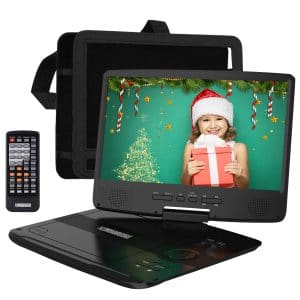 "HD JUNTUNKOR 12.5"" Portable DVD Player"