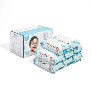 The Honest Company Pure and Gentle Baby Wipes, 576 Count