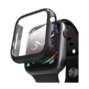 Pzoz Compatible Apple Watch Case with Screen Protector