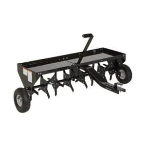 Strongway 48-inches Wide Tow-Behind Plug Aerator