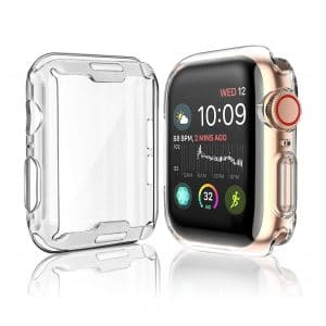 Julk Case for Apple Watch Screen Protector