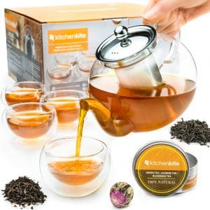 Kitchen Kite Tea Kettle Infuser Stovetop