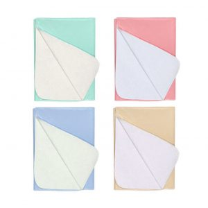 Nobles 4 Pack Waterproof Reusable Incontinence Bed Pads