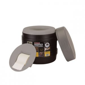 Reliance Hassock Portable Self-Contained Toilet