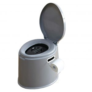 Basicwise Portable Travel Toilet for Camping